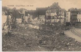 Cpa Namur Grand'Place, Côté Droit (démolition) Reproduction Interdite - Namen