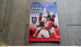 Le Grand Chelem Tournoi Des 5 Nations Rugby Couderc Garcia Le Guen Bande Dessinée Sport 1976 - Rugby