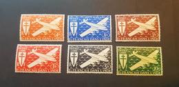 Inde Yvert PA 1-6** - Unused Stamps