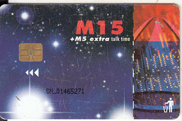 LESOTHO - Stars, Chip Siemens 35, Used - Lesotho