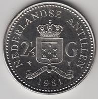 @Y@    Nederlandse Antillen  2 1/2  Gulden  Rijksdaalder  1981  ( 4739 ) - Antillen (Niederländische)