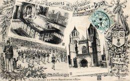 21 SOUVENIR DU CONCOURS DE MUSIQUE DE DIJON 15-16 AOÛT 1907 - Non Classificati