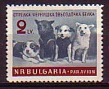 BULGARIA \ BULGARIE - 1961 - Les Chien De L'espace - 1v ** - Bulgarie