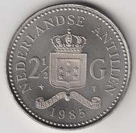 @Y@    Nederlandse Antillen  2 1/2  Gulden  Rijksdaalder  1985  ( 4742 ) - Antillen (Niederländische)