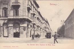 Torino, Via Cernala Dalla Stazione Di Porta Susa (pk68143) - Italie