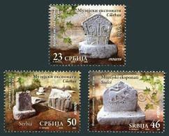 Serbia, 2016, Museum Exhibits, Set, MNH, Mi# 696/98 - Serbie