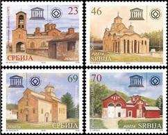 Serbia, 2016, Serbian Monasteries , Set, MNH, Mi# 648/51 - Serbie