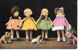 French Bulldog Toy, Bouledogue Français Jouet, Französische Bulldogge With Doll, Puppe, Poupée, Spielzeug - Cani