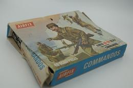 Airfix WW2 COMMANDOS, Scale HO/OO, Vintage 50pc - Figurines
