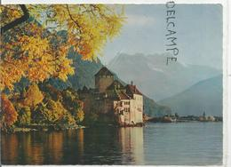 Lac Leman, Château Chillon Et Les Dents Du Midi. - GE Genève