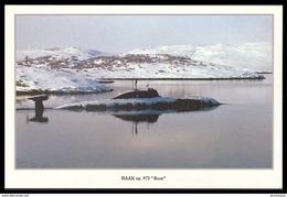 "RUSSIA POSTCARD 999 Mint SUBMARINE NUCLEAR 971 ""VOLK"" Wolf ATOM NORTH NAVY NAVAL SOUS MARIN U BOOT ARCTIC POLAR NORD 63 - Submarines"