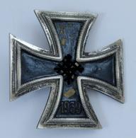 Insigne Broche Croix De Fer Iron Cross 1939 1er Classe - 1939-45