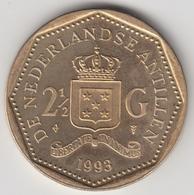 @Y@    Nederlandse Antillen  2 1/2  Gulden  Rijksdaalder  1993  ( 4747 ) - Antillen (Niederländische)