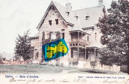 GHLIN - Bois D'Anchin - Carte Colorée Et Circulé En 1903 - Mons