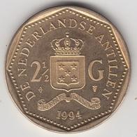 @Y@    Nederlandse Antillen  2 1/2  Gulden  Rijksdaalder  1994  ( 4748 ) - Nederlandse Antillen