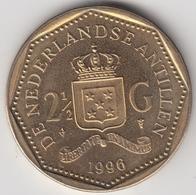 @Y@    Nederlandse Antillen  2 1/2  Gulden  Rijksdaalder  1996  ( 4750 ) - Nederlandse Antillen