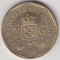 @Y@    Nederlandse Antillen  2 1/2  Gulden  Rijksdaalder  1997  ( 4751 ) - Nederlandse Antillen