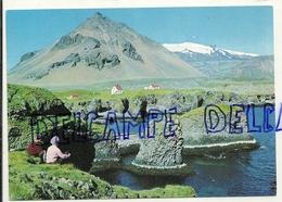 Islande. West Iceland. Stapafell And Snaefellsjokull - Glacier - Islande