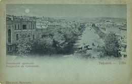 Georgia Russia, TBILISI TIFLIS, Golovinsky's Perspective 1899 Moonlight Postcard - Géorgie