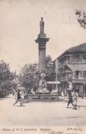 4812205Bombay, Statue Of Sir J. Jeejeebhoy. – 1906. (see Corners, See Sides) - Inde