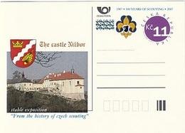 CDV C Czech Republic Nizbor Castle Exposition Of The Czech Scouting History 2007 - Andere