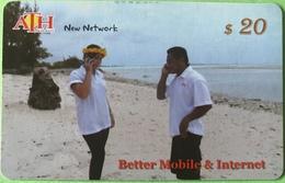 """KIRIBATI  -   Prepaid  -  $20 """" ATH """"  -  Better Mobile § Internet - Kiribati"""