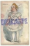 """Pierrette. D'après La Poupée De A. Willette. D'après La Poupée """"Dalla Bambola"""". Reproduction De La Muneca - Wilette"""