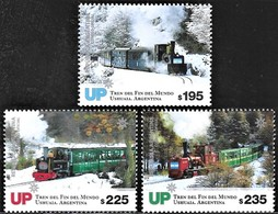 ! ARGENTINE / ARGENTINA: Railways Of The South: Train On Tierra Del Fuego / Chemin De Fer (2019) MNH *** Neufs - Ungebraucht