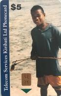 KIRIBATI  -   Chipcard  -  TSKL Phonecard  -  $5 - Kiribati