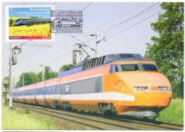 TGV FDC 1er Jour 30ème Anniversaire De La Mise En Service Du TGV - Strasbourg (67) 27 Septembre 2011 - FDC