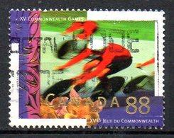 CANADA. N°1382 Oblitéré De 1994. Cyclisme. - Wielrennen