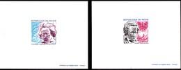 2 EPREUVE DE LUXE - 2 DIE PR OOF See Details Niger YT 310-311- Beethoven Chopin Voir Détails - Musique