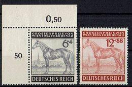 DR 1943 // Mi. 857/858 ** - Unused Stamps