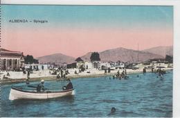 Albenga - Spiaggia - Sul Retro: Piccolo Credito Savonese ..... - Savona