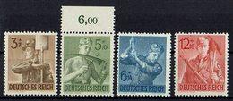 DR 1943 X Mi. 850/853 ** - Deutschland