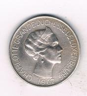5 FRANC 1962  LUXEMBURG 1261/ - Luxembourg