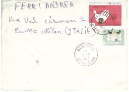 LETTERA X ITALY MATITINGOU - Benin – Dahomey (1960-...)