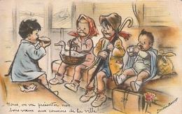 Nous, On Va Présenter Nos Bons Voeux Aux Cousins De La Ville!... - Bouret, Germaine