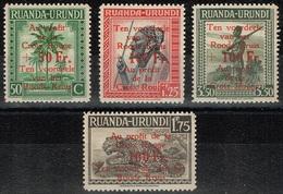 Ruanda-Urundi - 1944 - Y&T N° 150** à 153**, Neufs Sans Traces De Charnières - Ruanda-Urundi
