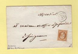 Orange - 86 - Vaucluse - 16 Juin 1856 - Faire Part De Mariage - Joncquiere - 1849-1876: Klassieke Periode