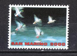 San Marino - 1996. Anatre In Volo. Ducks In Flight. MNH - Anatre