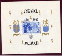 ORVAL Bloc 22  Cu   Neuf - Blokken 1924-1960