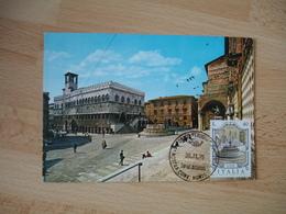 Italia Italie Perugia   Cm Carte Maximum - Maximumkaarten