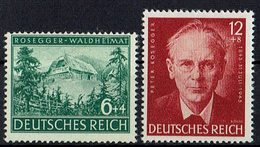 DR 1943 // Mi. 855/856 ** - Unused Stamps