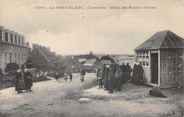 Le Port Blanc L'Arrivée Hôtel Des Roches Grises - Animée - Frankreich