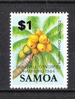Samoa   - 1984. Palma Con Noci Di Cocco. Palm Tree With Coconuts. MNH - Alberi
