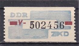 DDR, Dienst: ZKD Nr. 28 V** (T 14680) - DDR