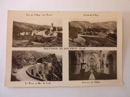 Souvenir De DOURBIES - GARD - Multi Vues - France