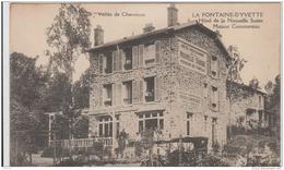 VALLEE DE CHEVREUSE LA FONTAINE D'YVETTE HOTEL DE LA NOUVELLE SUISSE MAISON COMMERREAU TBE - France