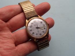 DIEHL Compact 15 Jewels ( Din Stainless Steel Back Shock And Waterresistant ) Horloge Homme ( Zie / Voir / See Photo ) ! - Montres Anciennes